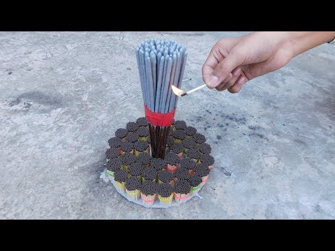 Sparkles Fuljhari Crackers Burning With Matches Science Experiments