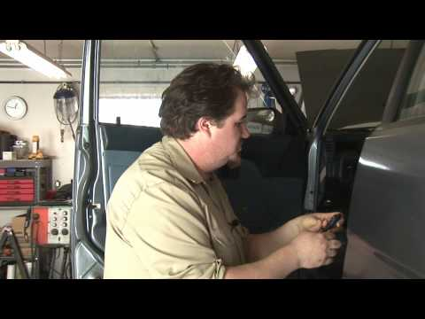 Auto Repair : How to Remove Window Cranks on Cars