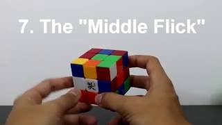 Finger Tricks (3x3 Rubik's Cube) - CFOP Part 1