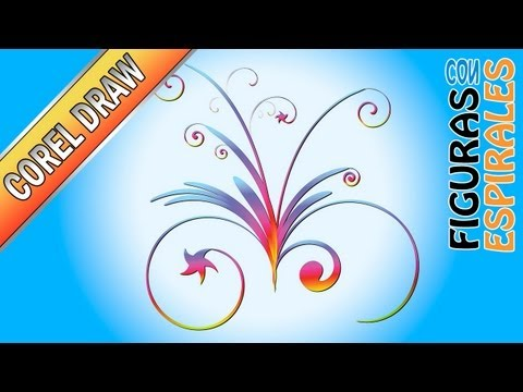 swirls twirls - Tutorial Corel Draw - Figuras con espirales - asesorjuanmanuel