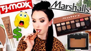 YOU WON'T BELIEVE WHAT I FOUND...TjMaxx & Marshalls Makeup TESTED!  $$
