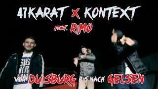 47KARAT & KONTEXT feat. RIMO - Von DU bis nach GE (prod. by ZMY DaBeat) | [OFFICIAL MUSIC VIDEO]