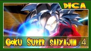 Dragon Ball Xenoverse - Dicas #7 - Como Liberar GOKU SS4