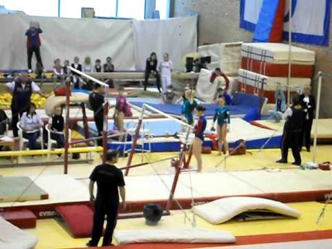 Aliya Mustafina 2012 Moscow Championships Uneven Bars 1