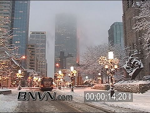 12/30/2005 Winter Storm video from Minneapolis, MN