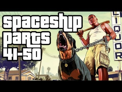 Grand Theft Auto 5 Collectibles Walkthrough - Spaceship Parts 41-50