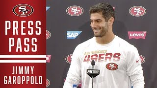 Jimmy Garoppolo: Atlanta 'Will Be a Good Challenge for Us' | 49ers
