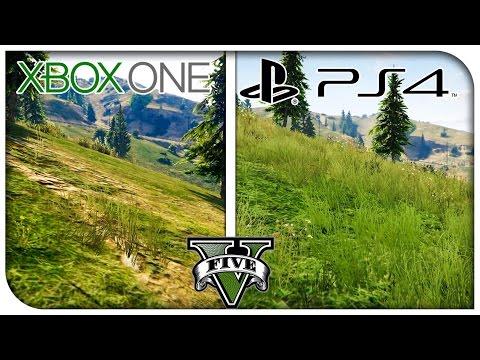 GTA 5 PS4 vs Xbox One Graphics Comparison! (1080p) [GTA V]