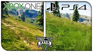 "GTA 5 ""PS4 vs Xbox One"" Graphics Comparison! (1080p) [GTA V]"