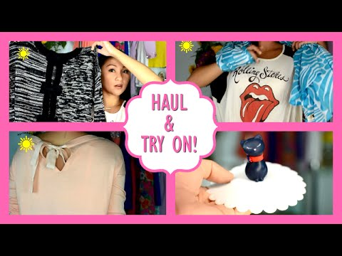 Fall Clothing Haul + Try On + Random Haul!