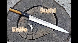HOW TO MAKE SUSHI KNIFE - KNIFE MAKING