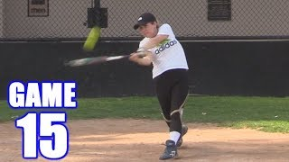 Download Song SAM HOMERS IN HER FIRST AT-BAT EVER! | On-Season Softball Series | Game 15 Free StafaMp3
