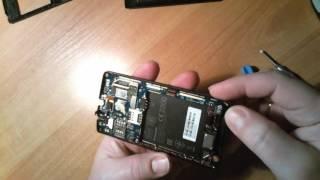 Леново А2010 замена ЖК экрана / Lenovo A2010 repair LCD