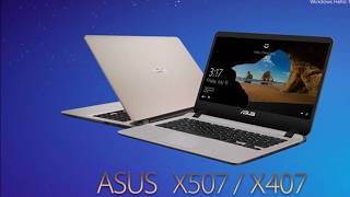 BREAKING NEWS!!! ASUS Announces Compact and Lightweight X407 and X507 Laptops