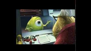 Sevimli Canavarlar - Monsters, Inc. 3D - 2013 - Fragman - Trailer - Full İzle