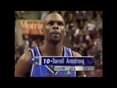Darrell Armstrong 34 Points 13 Ast @ Philadelphia, 2000-01.