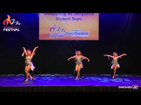 Stepping in Sequins Student Team - 2016 Sydney Latin Festival