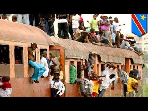 DRC train crash: at least 63 killed after derailment