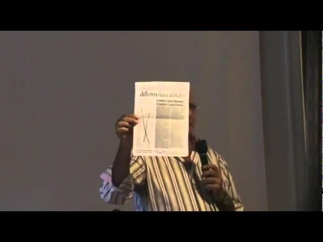 Portogruaro 17 9 2011   Luigi Pacchiano parla del caso Marla 1