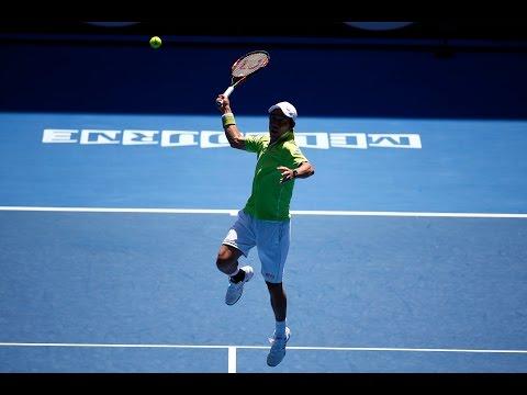 【錦織圭】2015全豪オープン 2回戦 VS イバン・ドディグ 4-6、7-5、6-2、7-6(7-6)のキャプチャー