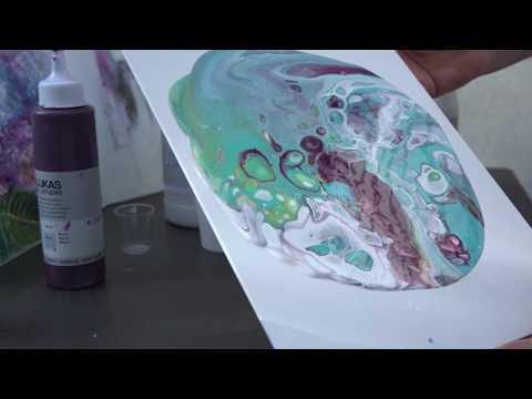 Acryl Fluid Technik Tutorial