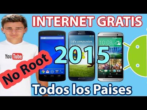 Tener internet Gratis en Cualquier Android   2015   3G y 4G
