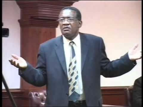 Eugene Hamilton in Parliament - Part 2