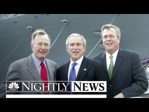 Election 2016: Jeb Bush Distances Himself From Bush Family | NBC Nightly News