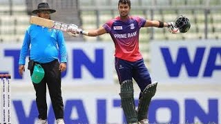 Sabbir Rahman's great century help to collect confidence for national team