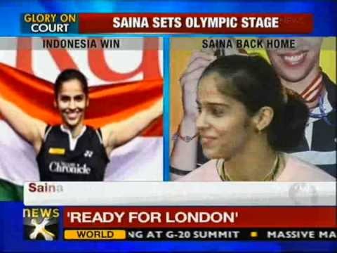 Indonesia Open win will give me confidence for Olympics: Saina Nehwal - NewsX