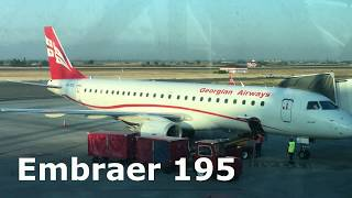 Georgian Airways | Flight A9726 | Embraer 195 | Yerevan (EVN) ✈ Tbilisi (TBS) Trip Report