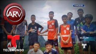 Odisea para rescatar niños atrapados en una cueva | Al Rojo Vivo | Telemundo