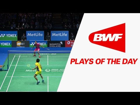 Plays Of The Day | Badminton F – Yonex All England Open 2016