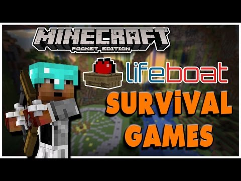 KILL THE HACKERS!   Minecraft PE LBSG Survival Games