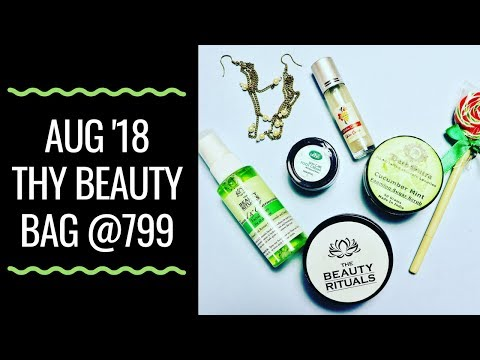 Thy Beauty Bag August 2018 | Unboxing & Review