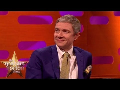Martin Freeman Looks Like a Hedgehog - The Graham Norton Show