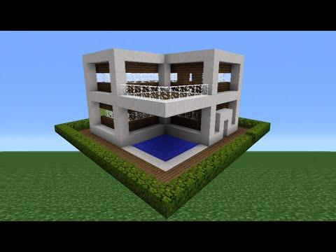 Minecraft Tutorial: How To Make A Quartz House - 8