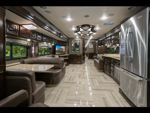 2016 Thor Motor Coach Tuscany Luxury RV Review at MHSRV.com 44MT