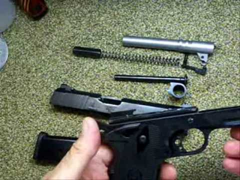 1911 Fieldstripping Taurus PT1911AR and range demo 45 ACP