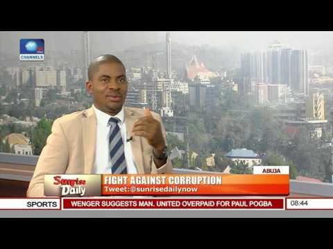 Deji Adeyanju Berates FG's Anti-Corruption Method Pt.1 #1