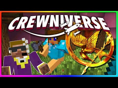 Minecraft - Going HAM on Hunger Games! (Crewniverse Server Survival Games!)