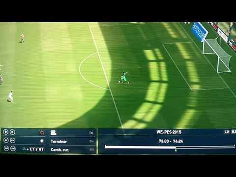 Gol tonto/fácil PES 2015 real Madrid vs Barcelona Derby español
