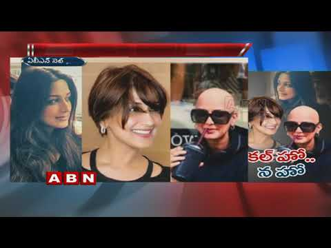 Sonali Bendre Shares Picture With a Fully Shaved Head | Treatment Of Cancer | ABN Telugu