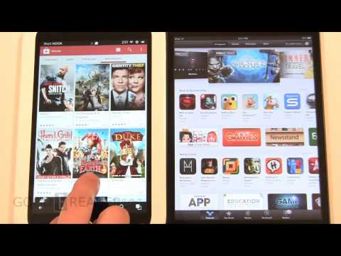 iPad Mini vs Nook HD with Google Play re-evaluation.
