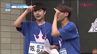[Produce 101] Ep 10 - Super Hot Team Cut
