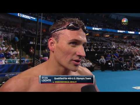 Olympic Swimming Trials | What Did Lochte, Phelps Talk About Pre-Race?