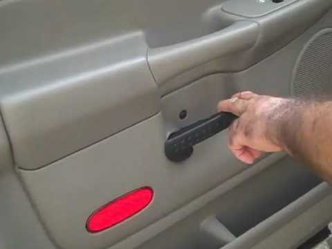 Dodge Ram 1500 Front Door Speaker Removal 2002 2005
