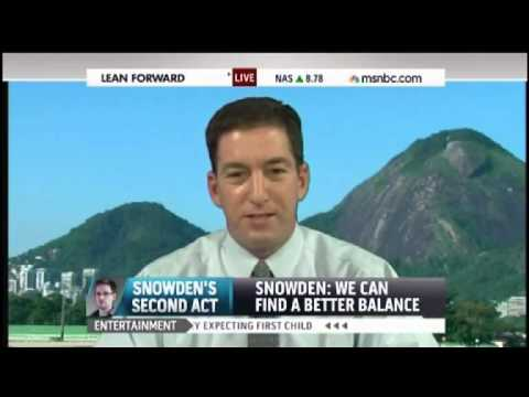 Greenwald Snarks at MSNBC: I Defend Snowden Like You Defend Obama '24 Hours a Day'