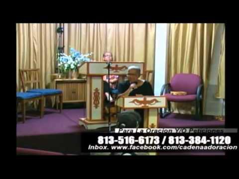 Culto Evangelistico, Concilio Pentecostal Senda Antigua AMIP Tampa Bay. 09- 13-2015