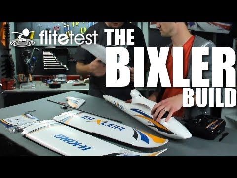 Flite Test - The Bixler Build - PROJECT